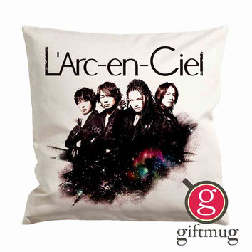 LArc en Ciel Band Cushion Case / Pillow Case
