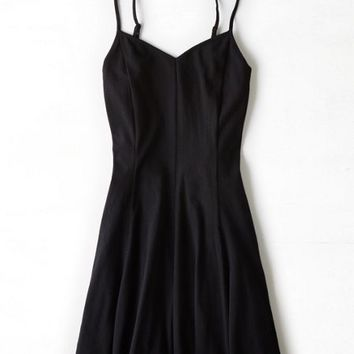AEO Women's Knit Fit & Flare Dress