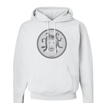Medusa Head Coin - Greek Mythology Hoodie Sweatshirt  by TooLoud