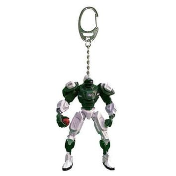 New York Jets Keychain Fox Robot 3 Inch Mini Cleats