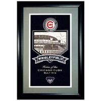Chicago Cubs MLB Gallery Pennant (25x17)