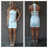 White Brandy Mini Dress