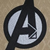 AVENGERS UNIFORM IRON-ON EMBROIDERED PATCH / BADGE / LOGO