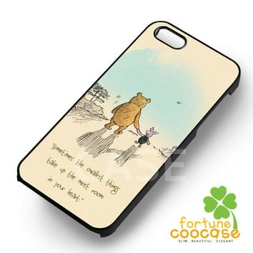 Disney piglet and winnie the pooh bff between the two -ndd for iPhone 6S case, iPhone 5s case, iPhone 6 case, iPhone 4S, Samsung S6 Edge