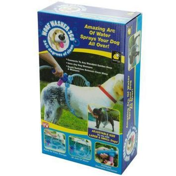Quick Woof Washer Adjustable Dog Cleaner Set of 4 Pack