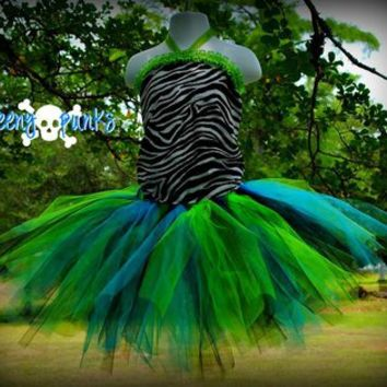 Slime Pool Tutu Skirt by Teeny Punks -$20 (Free shipping)