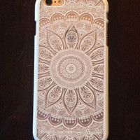 Hollow Out Lace Sunflower Case