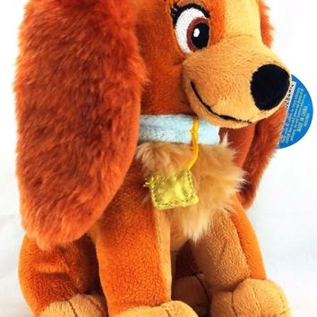 "Disney Lady and the Tramp Lady 6"" Plush"
