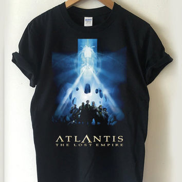 Atlantis The Lost Empire movies T-shirt Men, Women, Youth and Toddler