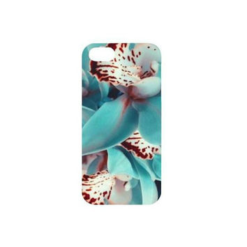 FLORAL BLUE iPhone 5, 5s, iPhone 6, 6+ Case Girly Boho Tumblt