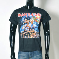 3D Iron Maiden Band Print  T-Shirt