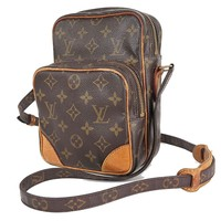 Authentic LOUIS VUITTON Amazone Monogram Cross body Shoulder Bag Purse #26453