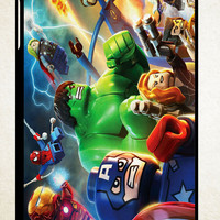 lego marvel super heroes wallpaper Y1228 iPad 2 3 4, iPad Mini 1 2 3, iPad Air 1 2 , Galaxy Tab 1 2 3, Galaxy Note 8.0 Cases