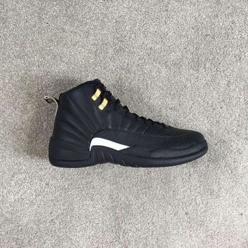 Air Jordan retro 12 The Master sneakers same material zoom package black sneaker
