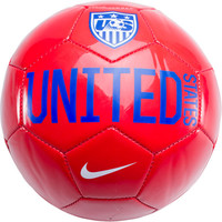 Nike USA Supporter Soccer Ball - Red with White - SoccerMaster.com