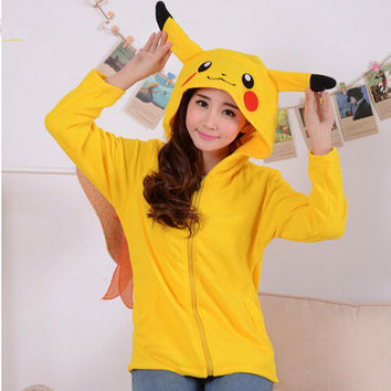 Pokemon Pikachu Hoodies