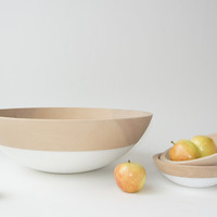"17"" Magnificent Wooden Serving Bowl"