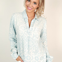 Chambray in Love Tunic