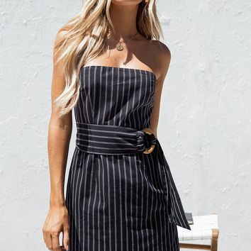 Nala Stripe Dress - Dresses by Sabo Skirt