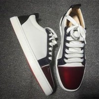 PEAPNW6 Cl Christian Louboutin Low Style #2046 Sneakers Fashion Shoes