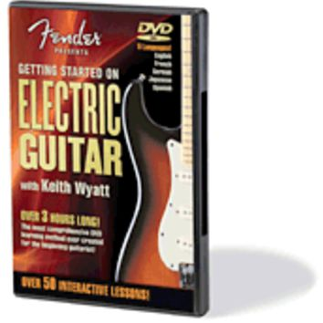 Fender® Presents Getting Started on Electric Guitar