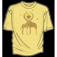 DFTBA Records :: Giraffe Love T-Shirt