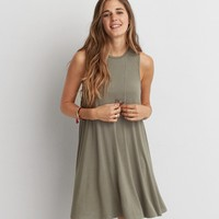 AEO OPEN BACK SHIFT DRESS