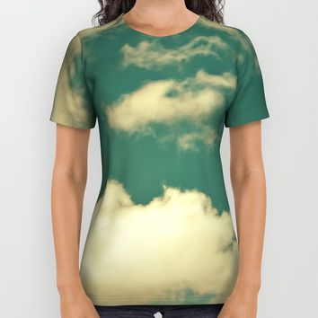 sky, clouds, dreams... All Over Print Shirt by VanessaGF