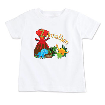 T-Shirt-Birthday T-Shirt-Party T-Shirt-Personalized-Custom T-Shirts- Party Favor-Party Decor-Dino Baby-Dinosaur