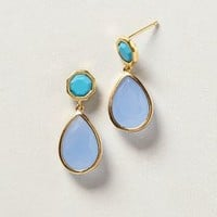 Cemoro Drops by Anthropologie Blue One Size Earrings