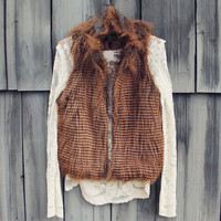 Winter Moon Faux Fur Vest