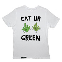 KULT Clothing — EAT UR GREEN TEE