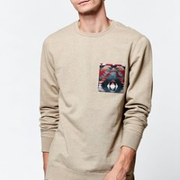 Rhymes Tribal Pocket Pullover Sweatshirt