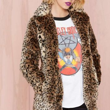 Nasty Gal Cat Skills Coat