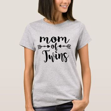 Mom of Twins T Shirt