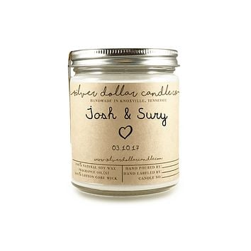 Engagement/Couple Candle - 8oz Soy Candle [V1]