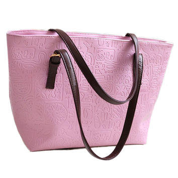 Fashion female bag, han edition fashion handbags, new oracle women bag, single shoulder bag