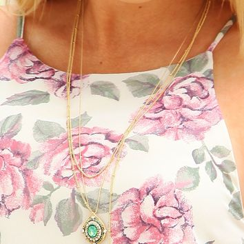 This Little Light Of Mine Necklace: Gold