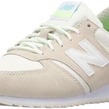 DCCK1IN new balance women s 420 70s running lifestyle fashion sneaker sea salt white 5 5 b m us