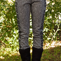 Love Love Yoga Pants - Charcoal