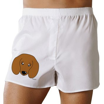 Cute Doxie Dachshund Dog Boxer Shorts by TooLoud