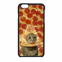 Cat iPhone Case Pizza Funny iPhone 6 Case