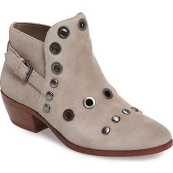 Sam Edelman Pedra Grommeted Split Shaft Bootie (Women) | Nordstrom