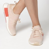 adidas Women's Cream NMD_R1 STLT Primeknit Sneakers at PacSun.com - cream | PacSun