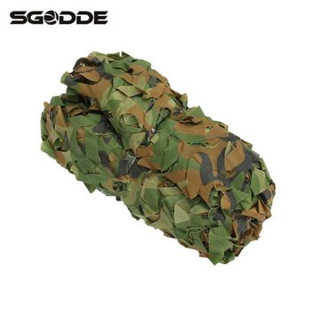 Four-season Outdoor Hunting 300 x 300cm Military Camouflage Jungle Net Woodlands Camo Blind Trap Tent Hunt Accessories