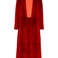 Notch Collar Fur Coat | Moda Operandi