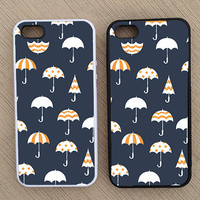 Cute Umbrella Pattern iPhone Case, iPhone 5 Case, iPhone 4S Case, iPhone 4 Case - SKU:196