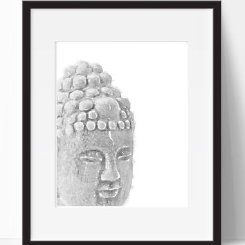 Buddha Home Decor, Printable, Wall Art, Wall Prints, Print Art, Wall Decor, Digital Art, Modern Print, Digital Download