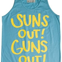 WELLEN SUNS OUT GUNS OUT TANK > Mens > Clothing > Tanks | Swell.com