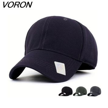 Trendy Winter Jacket VORON2017 Spandex Flexfit Fitted Baseball Cap bone Casual Full Closed Sport Snapback Caps Men Women Sunscreen Casquette Polo Hat AT_92_12